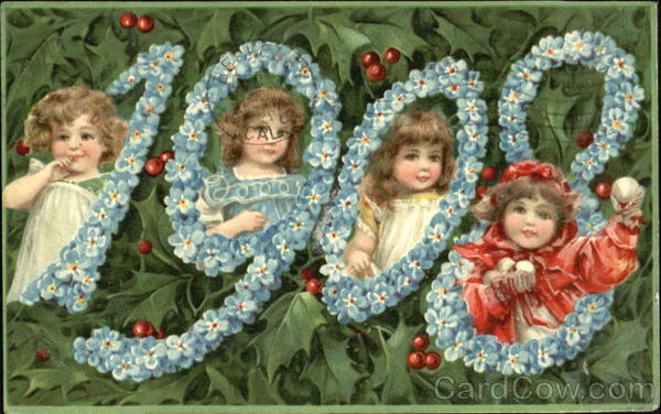 1908 Wishing You A Happy New Year, Wish Year Dates