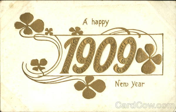 A Happy 11909 New Year New Year's