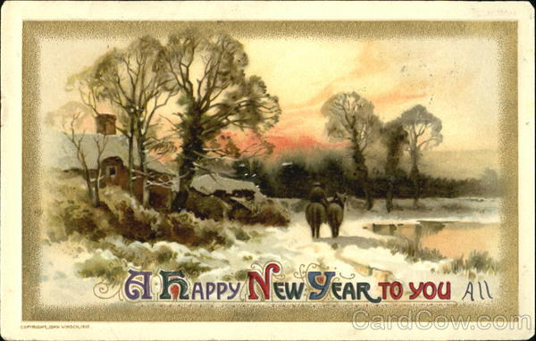 A Happy New Year To You All New Year's