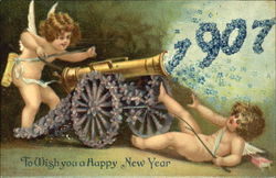 1907 To Wish You Happy New Year