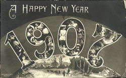 A Happy New Year 1907