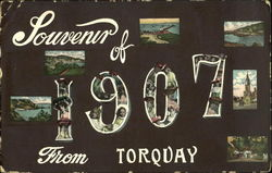 Souvenir Of 1907 From Torqday