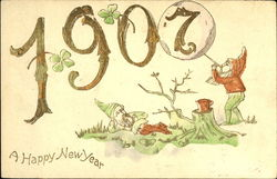 1907 A Happy New Year