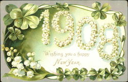 Wishing You A Happy New Year 1908