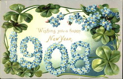1908 A Happy New Year To You