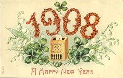 1908 A Happy New Year