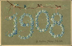 1908 A Happh New Year