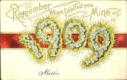 Remember When I Called You Mine 1909