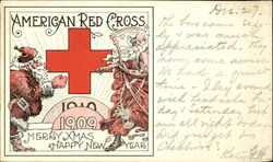 American Red Cross Merry Xmas Happy New Year
