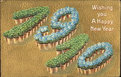 Wishing You A Happy New Year 1910