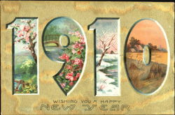 1910 Wishing You A Happy New