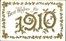 Best Wishes For 1910