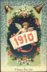 1910 A Happy New Year