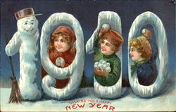 1910 Wishing You A Happy New Year
