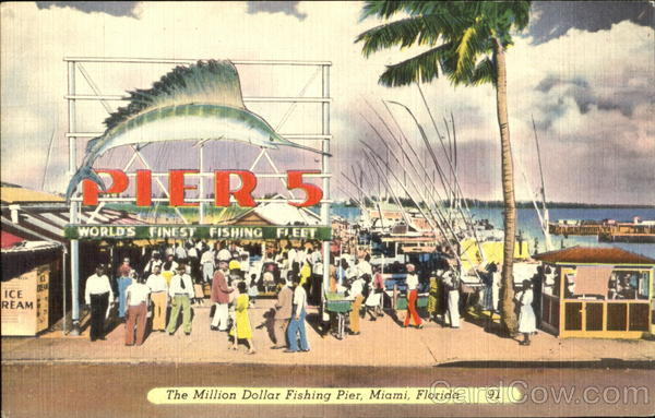 The million dollar fishing pier miami fl for Miami fishing piers