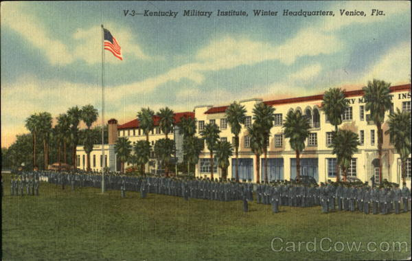 Kentucky Military Institute, Winter Headquarters Venice Florida