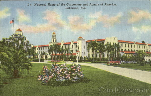 National Home Of The Carpenters And Joiners Of America Lakeland Florida