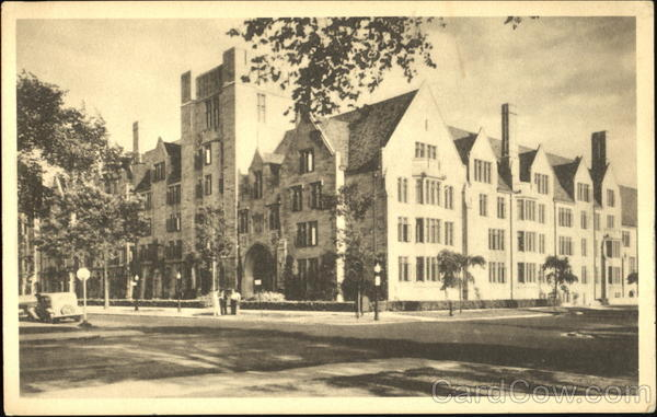 College Residence Halls For Men, The University of Chicago Illinois