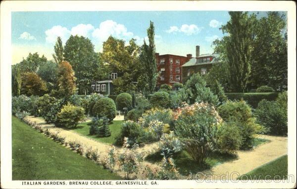 Italian Gardens, Brenau College Gainesville Georgia