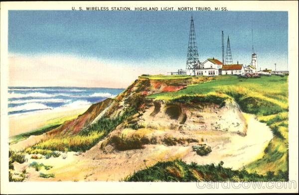U. S. Wireless Station Highland Light