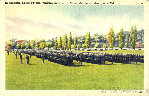Regimental Dress Parade, U. S. Naval Academy Annapolis Maryland
