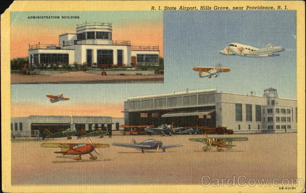 R. I. State Airport, Hills Grove Providence Rhode Island