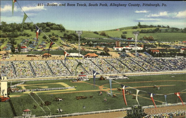 Rodeo And Race Track, South Park Pittsburgh Pennsylvania