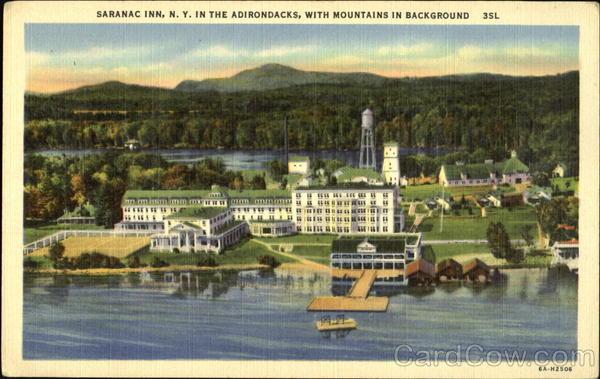 Saranac Inn Saranac Lake New York