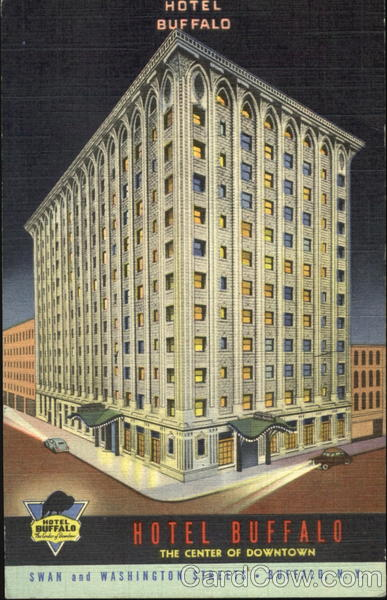 Hotel Buffalo, Swan and Washigton Streets New York