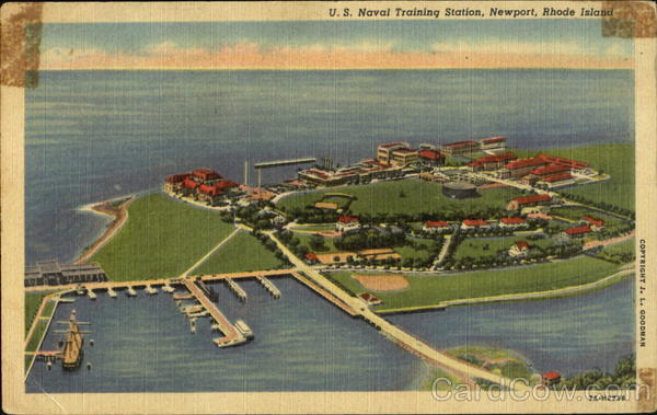 U. S. Naval Training Station Newport Rhode Island
