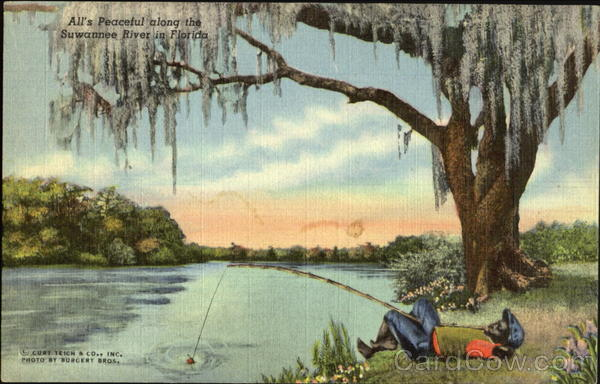 All's Peaceful Along The Suwannee River In Florida