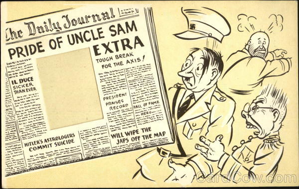 Pride of Uncle Sam Comic, Funny