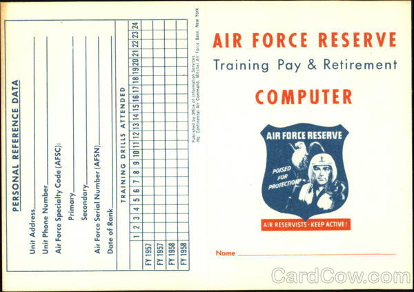 Reserve Pay Per Training Period Air Force