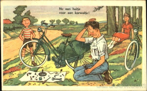 Nu Een Heitje Voor Een Karweitje! Bicycles