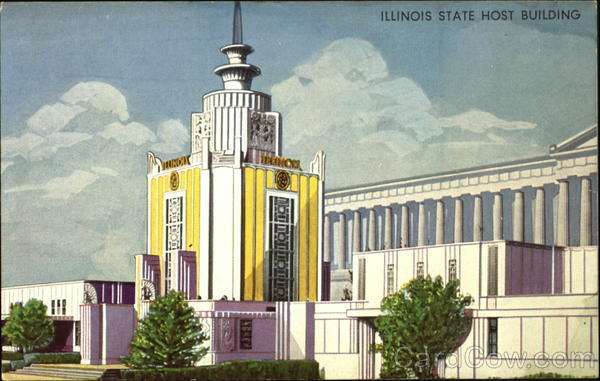 Illinois State Host Building 1933 Chicago World Fair