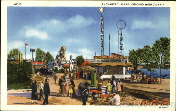 Enchanted Island, Chicago World's Fair 1933 Chicago World Fair