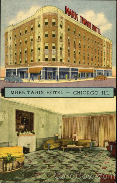 Mark twain hotel chicago il for Hotels 60657