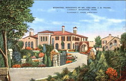 Stonedge Residence Of Mr. And Mrs. J. B. Pound