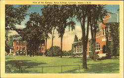 View Of The Campus, Bates College