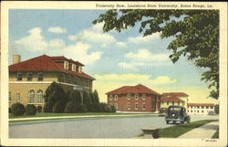 Fraternity Row, Louisiana State University