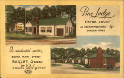 Pine Lodge Motor Court, South Main Street