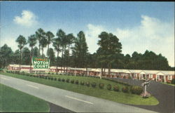 Surles Motor Court, 301 Highway Postcard