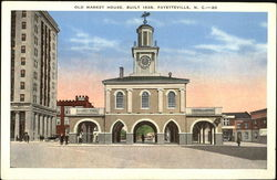 Old Market House Postcard