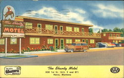 The Shanty Motel, 838 1st St. (U. S. 2 and 87)