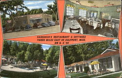 Fairchild's Restaurant & Cottages, U. S. 90