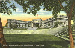 El Paso High School And Stadium