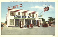 Lord Clarendon Service Station, U. S. 15 U. S. 15A and U. S. 301