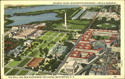 The Mall And New Government Buildings