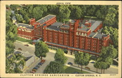 Aerial View Clifton Springs Sanitarium