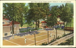 New Trout House Tennis Court